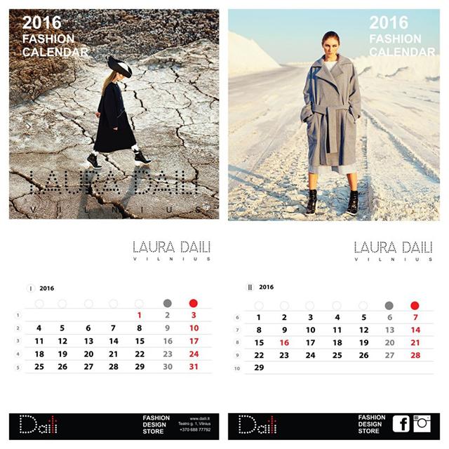 Kalendorių puošia Neringos Rekašiūtės darytos nuotraukos