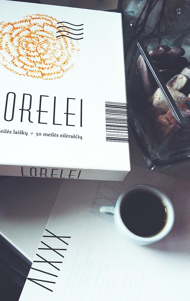 """Kęstutis Navakas """"Lorelei. 50 meilės laiškų + 50 meilės eilėraščių"""""""